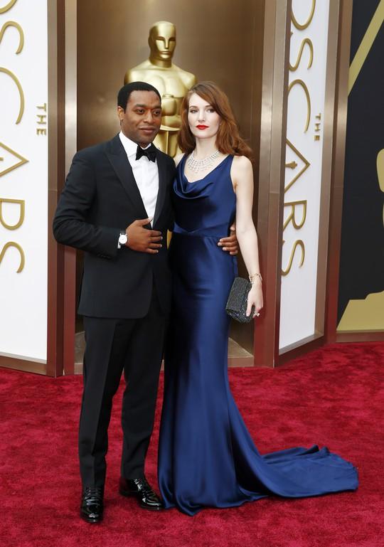 Nam diễn viên CHiwetel Ejiofor và bạn gái