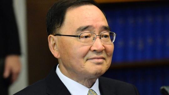 Thủ tướng Chung Hong-won. Ảnh: Reuters