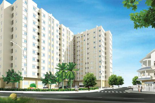 Khu chung cư Nhân Phú, quận 9 -TP HCM, dành cho CBCNV Tổng công ty CP Phong Phú