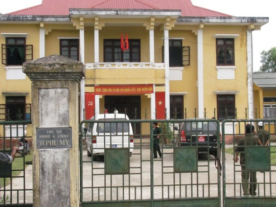Trụ sở UBND xã Phú Mỹ