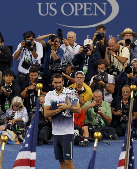 Cilic với danh hiệu Grand Slam đầu tiên trong sự nghiệp