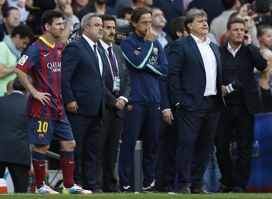 Những hình ảnh cuối cùng của ông Martino trên cương vị HLV Barca