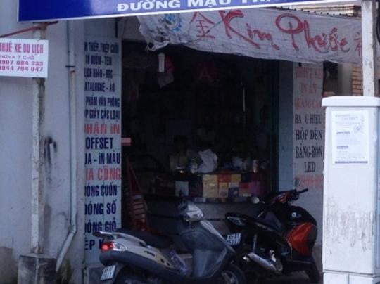 Cơ sở in Kim Phước bị công an phát hiện đang in vé giả