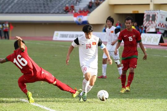 Công Phượng và Tuấn Anh (ảnh dưới), 2 cầu thủ chơi rất hay ở trận thắng Indonesia vẫn có mặt trong đội hinh xuất phát
