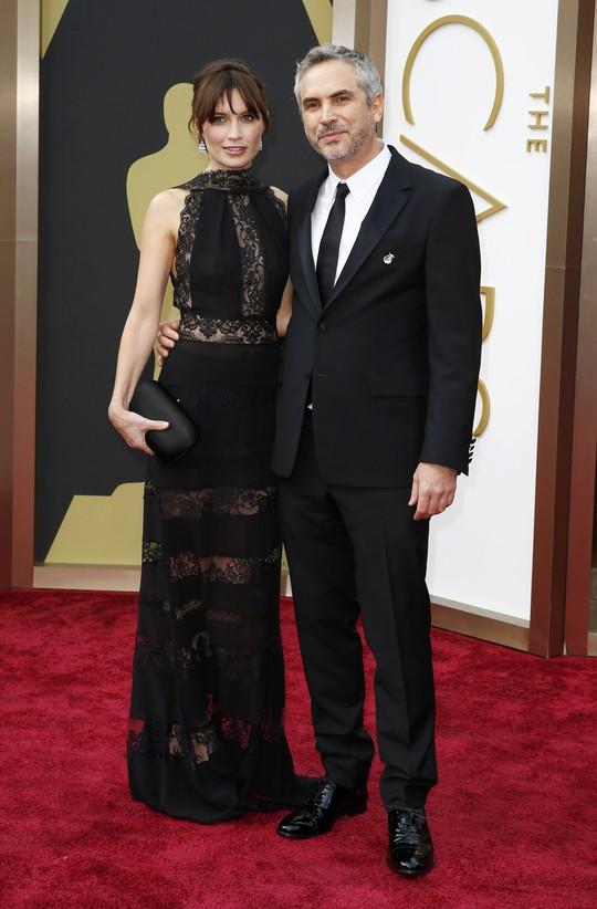 Đạo diễn Alfonso Cuaron (phim Gravity) và bạn gái
