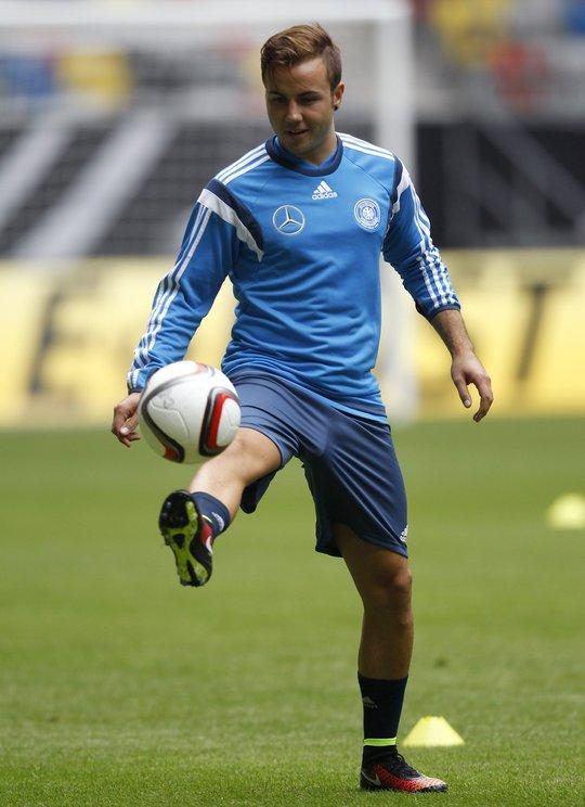 Người hùng World Cup 2014 Mario Goetze