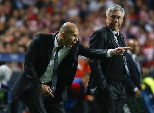 Trợ lý Zidane làm nhiệm vụ ở Real Mdrid