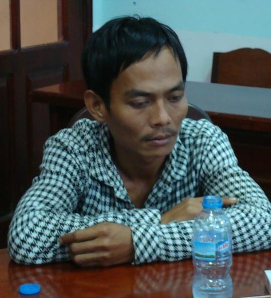 Đặng Hùng Phương tại cơ quan điều tra