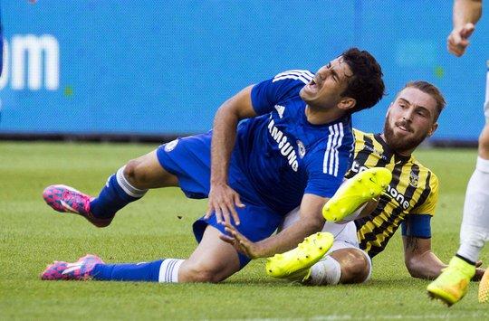 Chấn thương của các trụ cột như Diego Costa là nỗi ám ảnh của HLV Mourinho