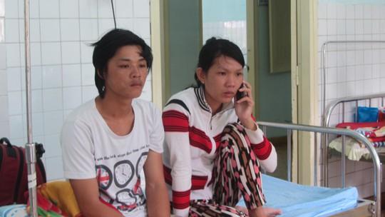 Đôi mắt thẫn thờ sau khi thoát nạn trở về của thuyền viên Nguyễn Thành Thủy