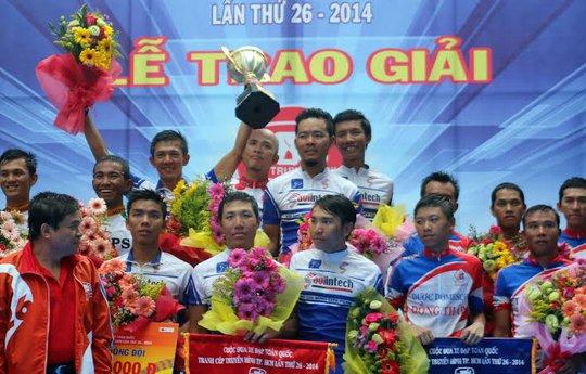 Suntek Sao Việt nhận giải đồng đội
