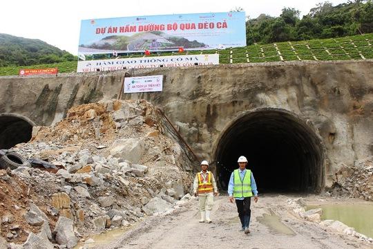 Đơn vị giám sát là Liên danh Apave – Dohwa – Tedi South kiểm tra kỹ thuật hầm Cổ Mã