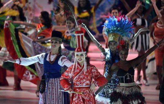 Hoa hậu Mông Cổ. ẢNh: Reuters