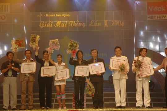 Đan Trường tại lễ trao giải năm 2004