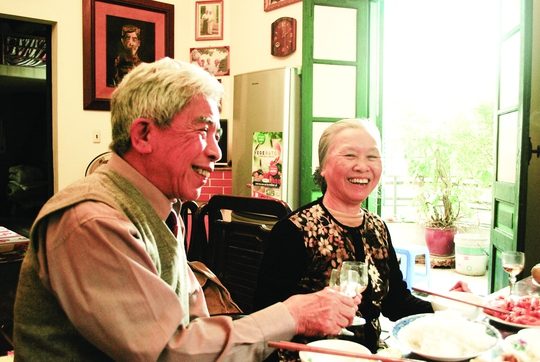 Nhà văn Bùi Ngọc Tấn. (Ảnh do nhân vật cung cấp)