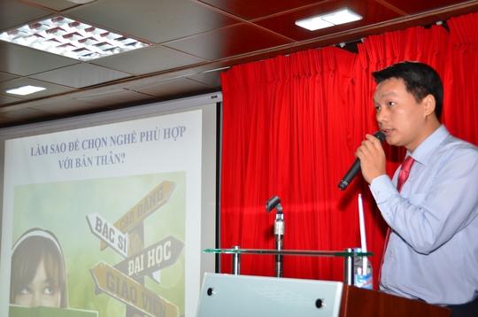 Ông Lưu Quốc Khanh phản ánh thực trạng hướng nghiệp tại TP HCM