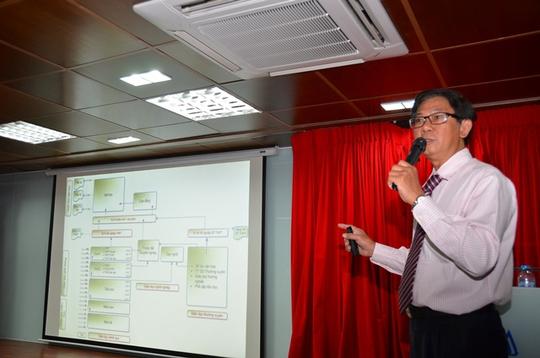 TS Nguyễn Đức Nghĩa – Phó Giám đốc ĐHQG TP HCM