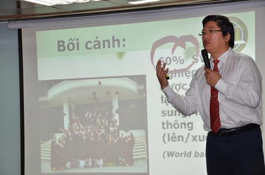 TS Trần Đình Lý – Trưởng Phòng đào tạo Trường ĐH Nông Lâm TP HCM