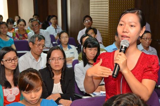 Một giáo viên trình bày lo lắng về kỳ thi THPT quốc gia và chương trình đào tạo hướng nghiệp hiện nay
