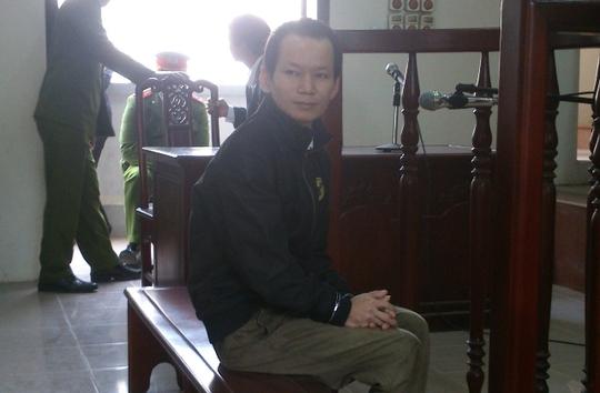Bị cáo Vũ Đình Hào trong phiên xét xử