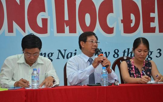 TS Nguyễn Đức Nghĩa, Phó Giám đốc ĐHQG TP HCM tư vấn chung