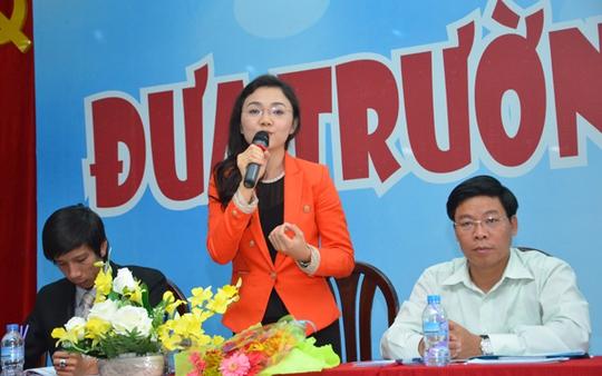 Bà Nguyễn Thị Phi Yến – Giám đốc đào tạo Trường Quốc tế PSB