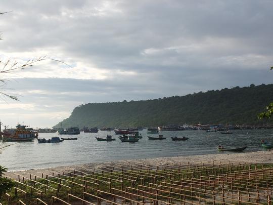 Bãi Ngự, nơi tập trung dân cư đông nhất ở quần đảo Thổ Chu