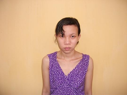 Trang, mẹ ruột của Ngân