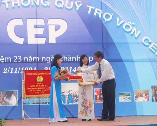 Quỹ CEP đóng góp tích cực vào công cuộc xóa đói giảm nghèo