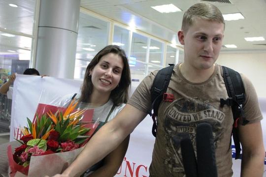 Những du khách Nga đầu tiên từ đường bay thẳng Moscow – Khánh Hòa