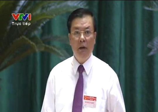 Bộ trưởng Tài chính Đinh Tiến Dũng sáng 11-6 khẳng định chúng ta vay của Trung Quốc không nhiều