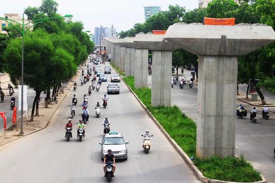 Tuyến đường sắt đô thị Cát Linh- Hà Đông bị đội vốn hơn 300 triệu USD.