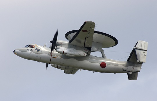 Nhật ra mắt 4 máy bay cảnh báo sớm E-2C. Ảnh: Naval Open Sourse Intelligence