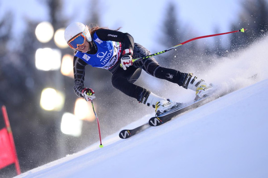 VĐV trượt tuyết Chamoun