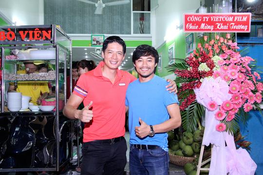 Bình Minh và diễn viên Qúy Bình