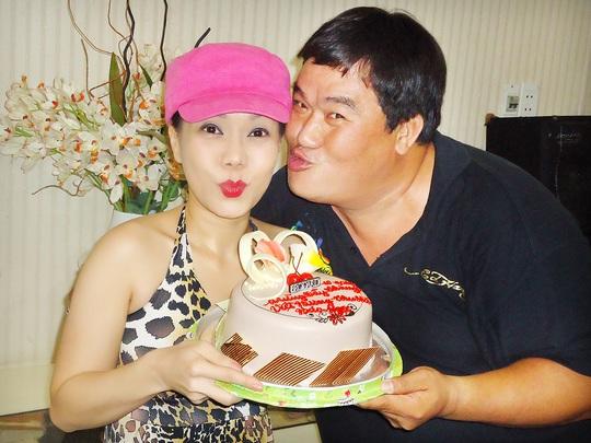 Hoàng Mập mừng sinh nhật Việt Hương