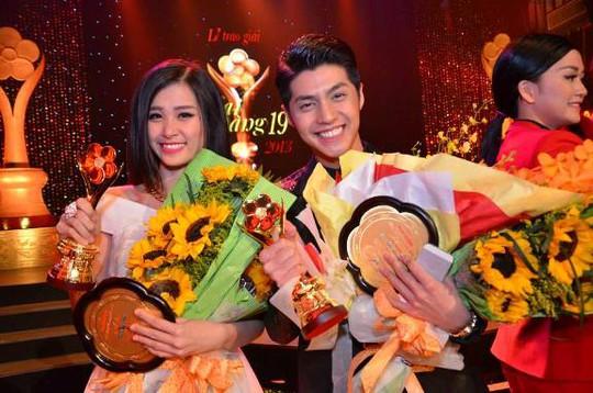 Đông Nhi và Noo Phước Thịnh đoạt giải Mai Vàng 2013