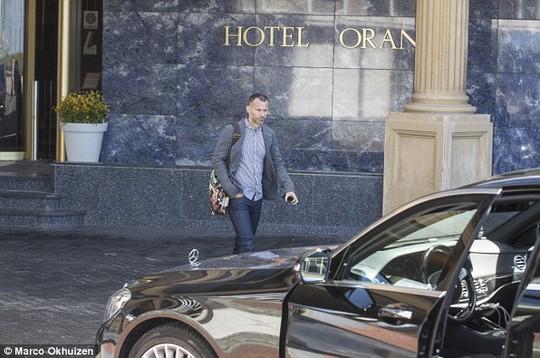 Khách sạn Oraje, nơi Giggs lưu lại cho cuộc gặp ông Van Gaal