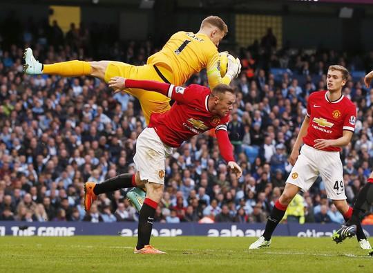 Joe Hart khiến Rooney và các tiền đạo M.U nản lòng