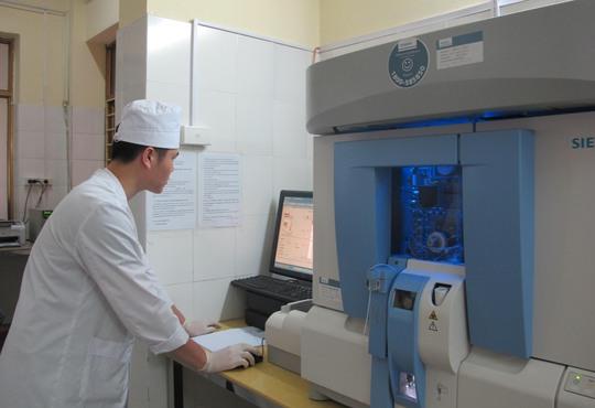 Hệ thống máy xét nghiệm hiện đại