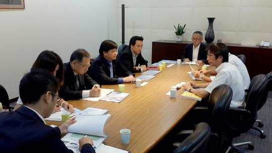 Buổi làm việc giữa VietinBank và tổ chức JICA Nhật Bản
