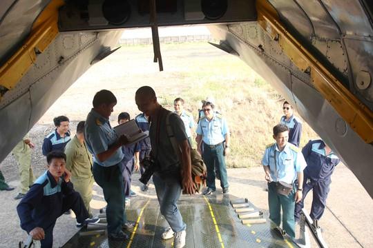 Máy bay AH26 số hiệu VN268 xuất phát tại sân bay Tân Sơn Nhất lúc 8g sáng nay