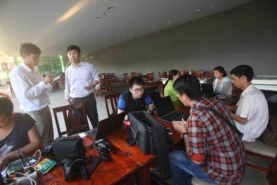 Tin tức được phóng viên nước ngoài cập nhật từng phút từ Phú Quốc
