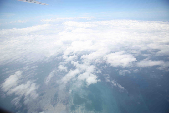 Chuyến bay hôm nay phát hiện vệt màu vàng trên biển dài khoảng 20km nhưng chưa thể xác định rõ ràng đó là vật gì