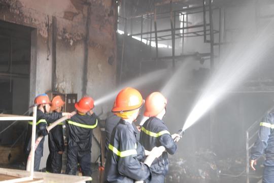 Nguyên nhân hỏa hoạn tình nghi do máy phát điện
