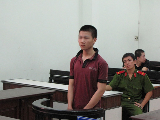 Nguyễn Hữu Hậu Phác tại phiên tòa phúc thẩm