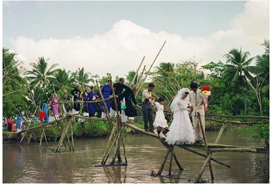 Một đám cưới ở quê. (Ảnh có tính minh họa)