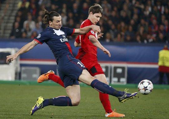Ibrahimovic là nỗi khiếp sợ cho bất cứ đối thủ nào sẽ phải chạm trán PSG ở tứ kết