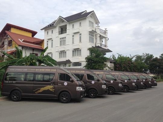 Đội xe chất lượng cao của Sagotour
