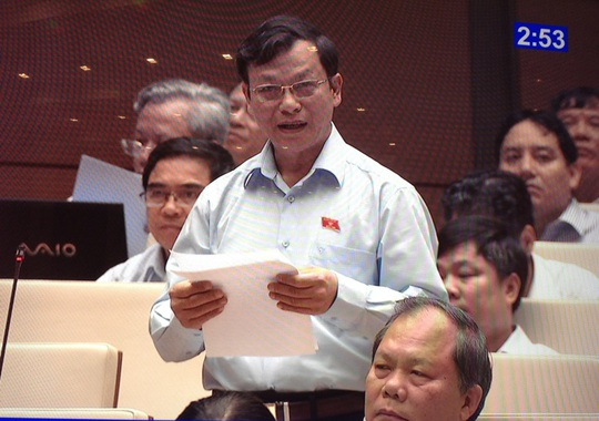 Đại biểu Bùi Mạnh Hùng (Bình Phước) xin tiếp tục chất vấn Viện trưởng VKSND Tối cao Nguyễn Hòa Bình về kỳ án vườn mít